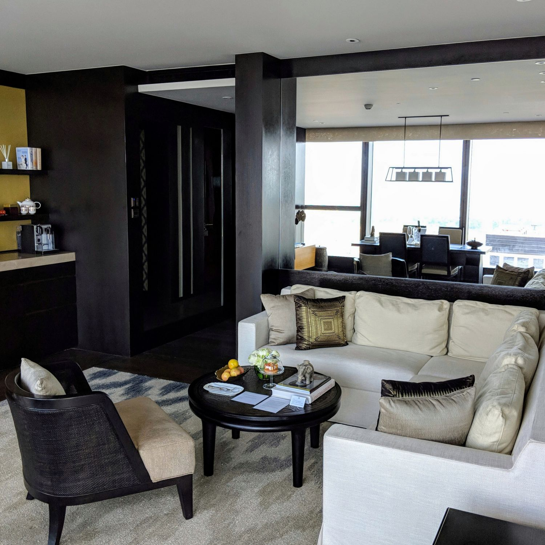 rosewood phnom penh Rosewood Suite Living Room