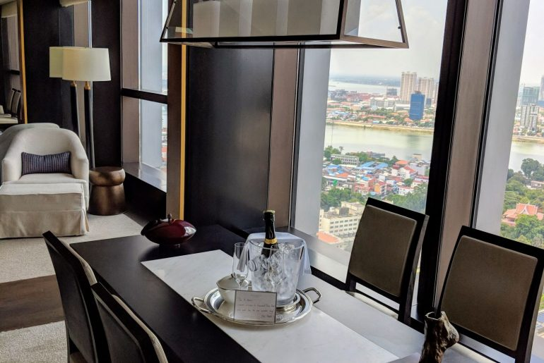 Hotel Review: Rosewood Phnom Penh (Rosewood Suite) – Ultra-luxury Hotel with Unbeatable Views of Phnom Penh