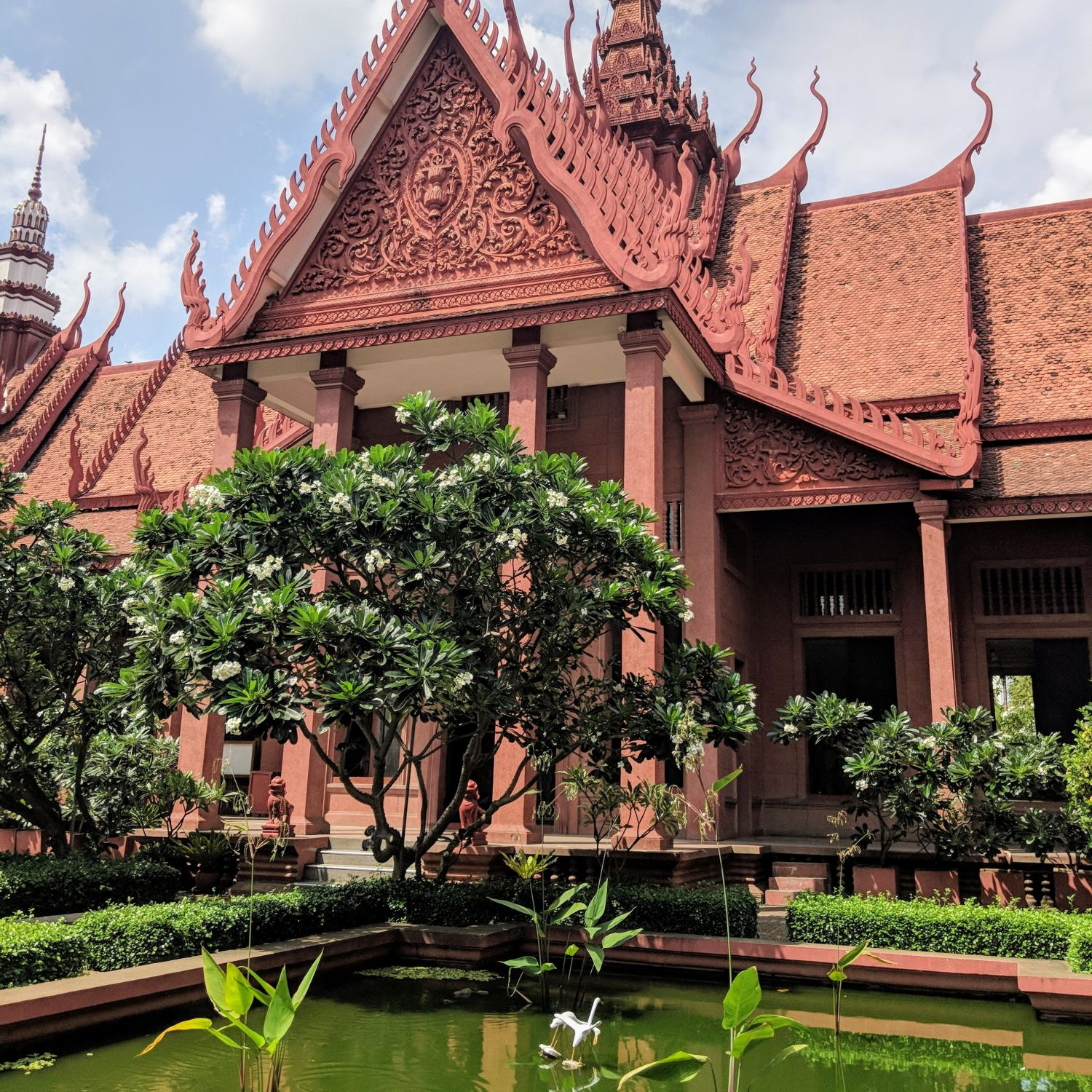 rosewood phnom penh city tour national museum of cambodia