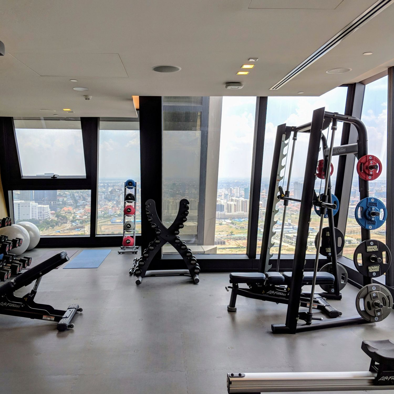 rosewood phnom penh fitness centre