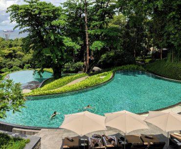capella singapore swimming pools