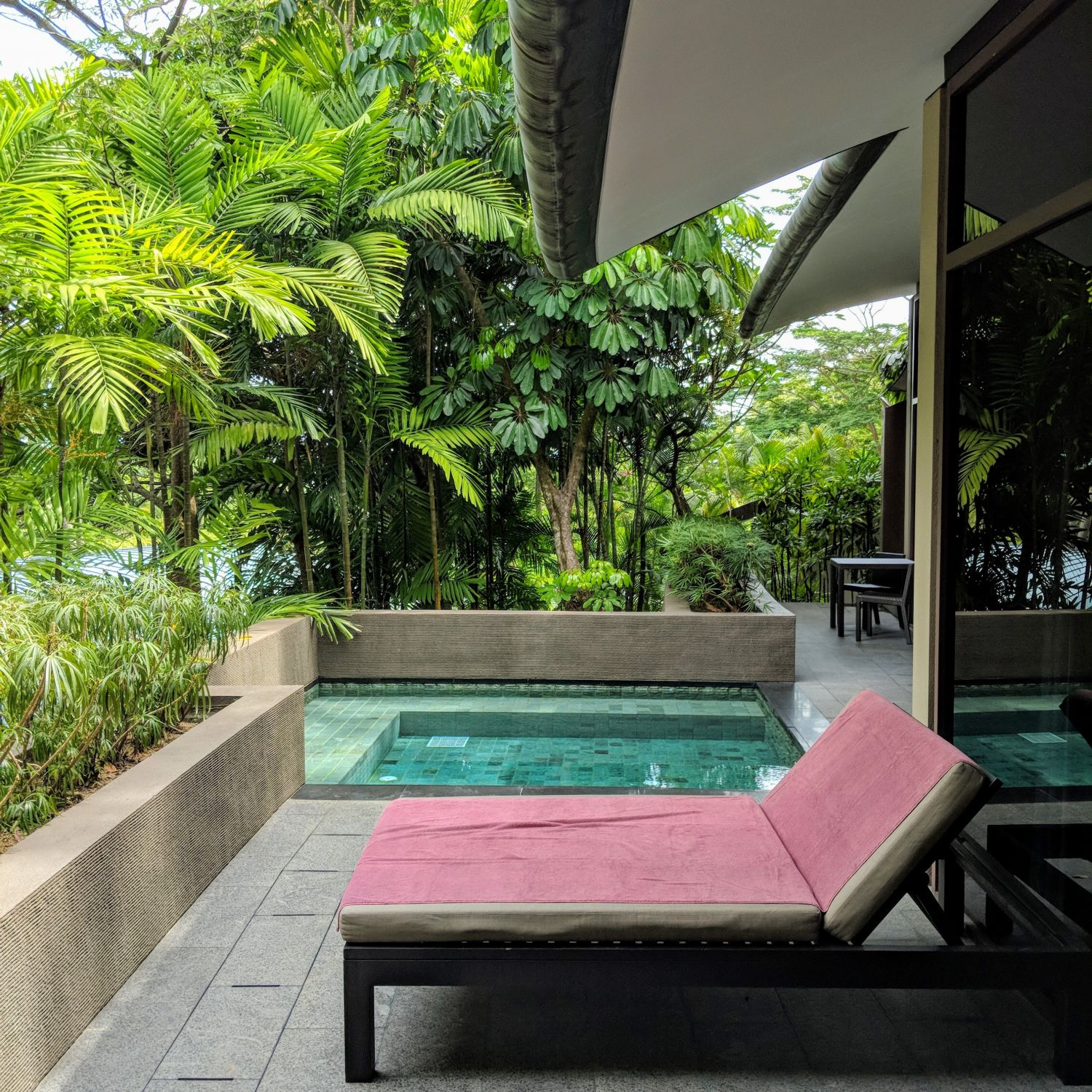 capella singapore One Bedroom Garden Villa outdoor plunge pool