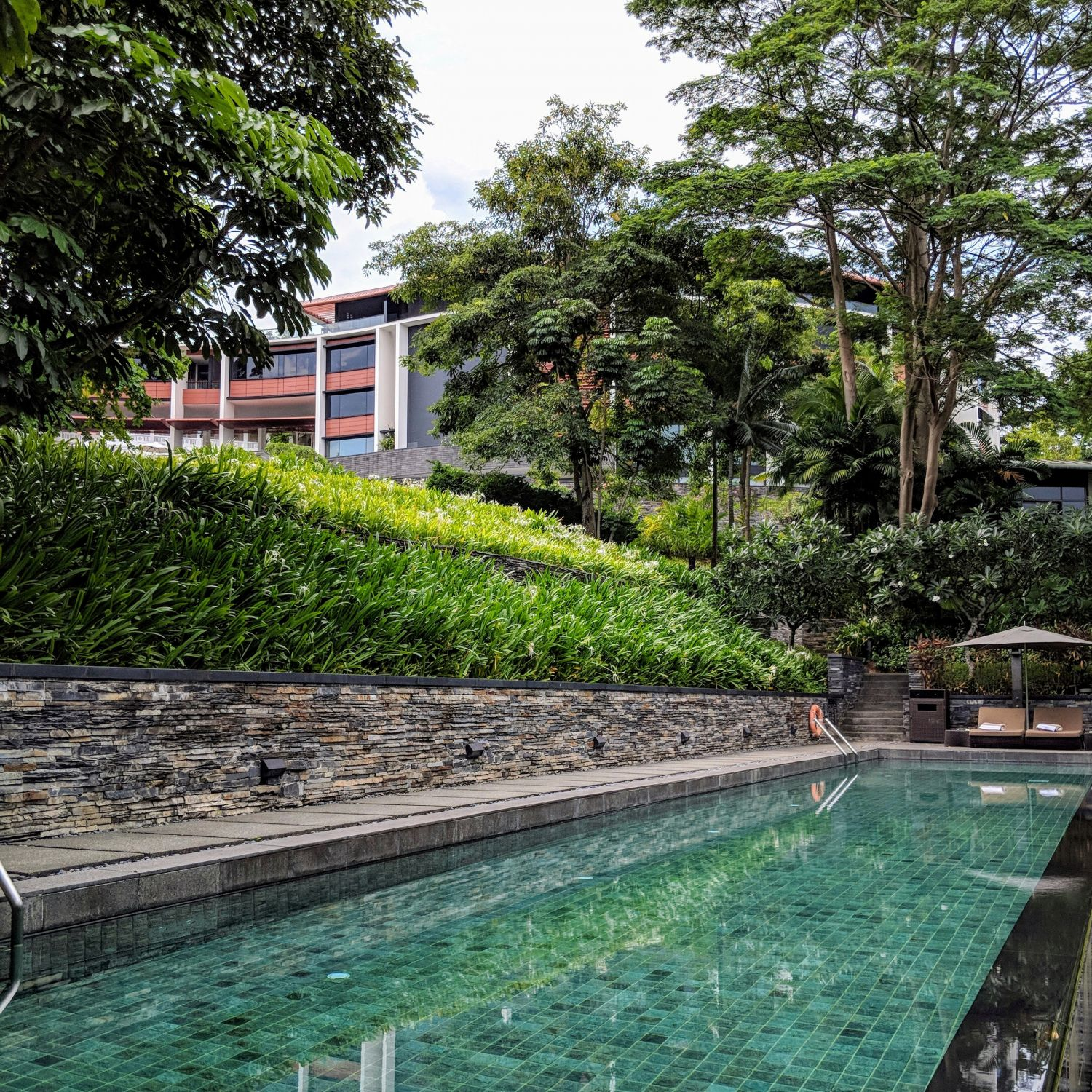 capella singapore lap pool