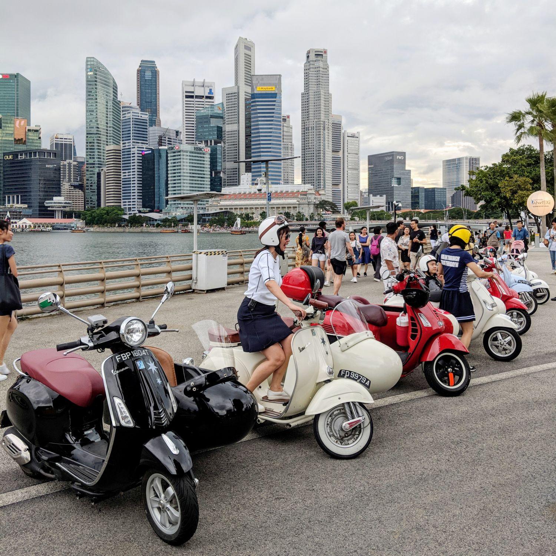capella singapore Singapore Sidecars Tour