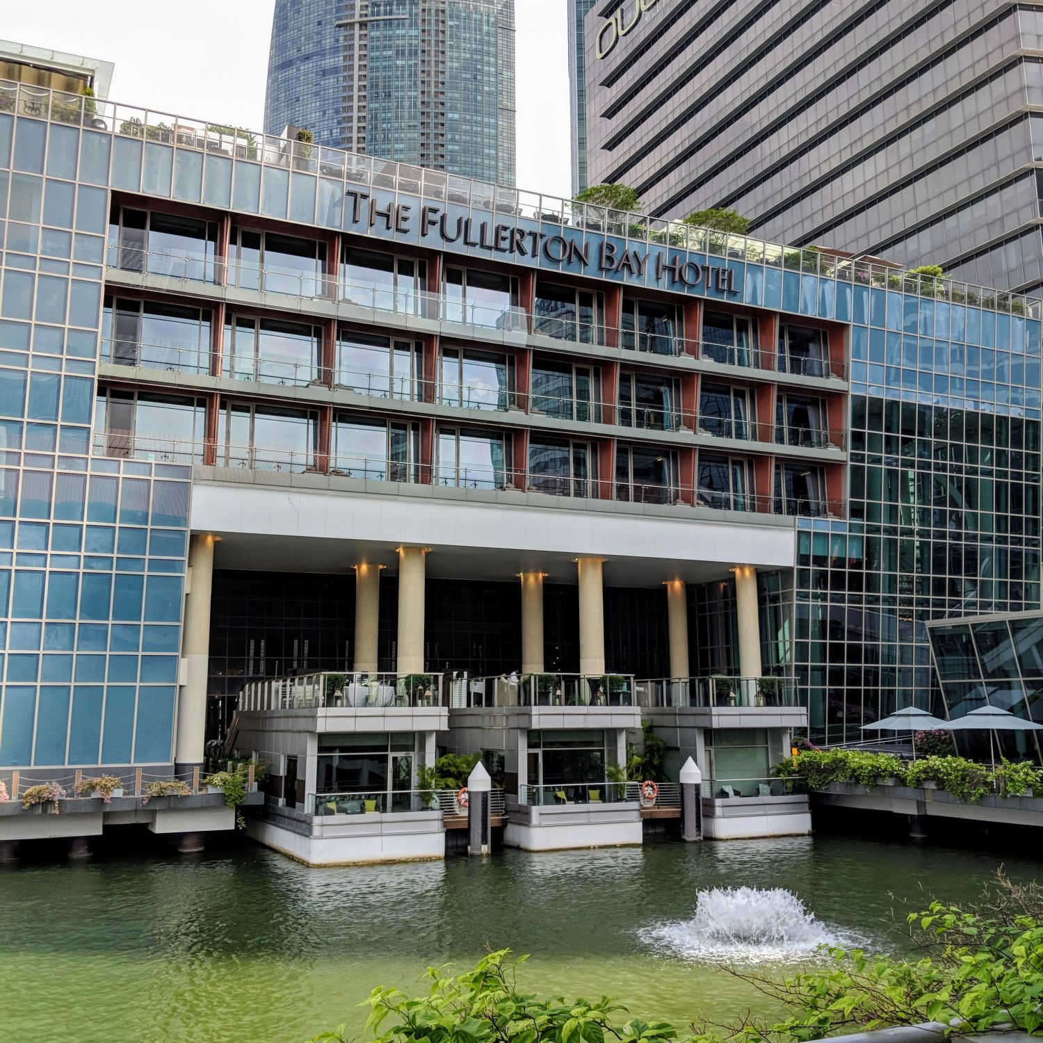 The Fullerton Bay Hotel Singapore Exterior