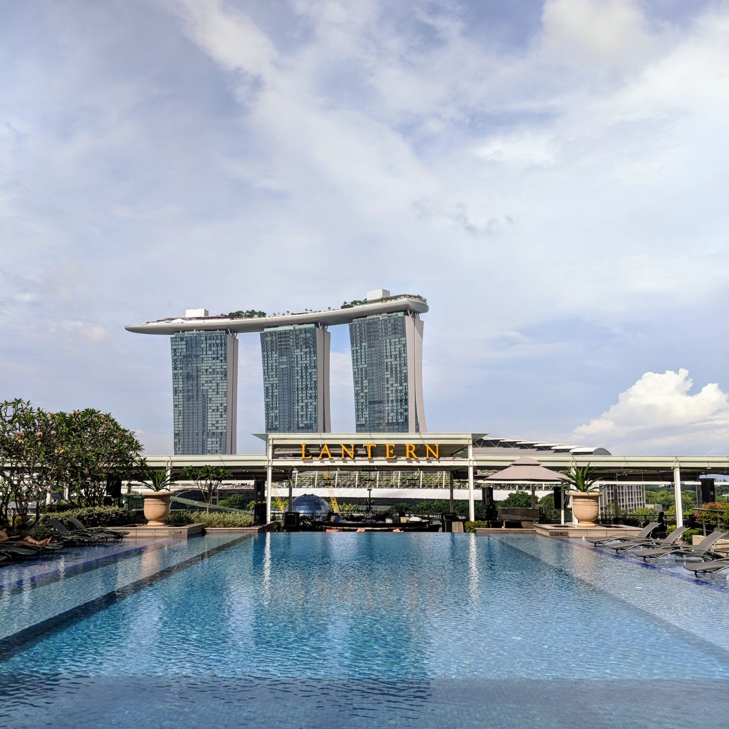 The Fullerton Bay Hotel Singapore Swimming Pool
