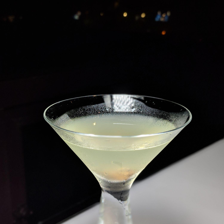 grand hyatt taipei Cheers Taiwanese Lemon Martini