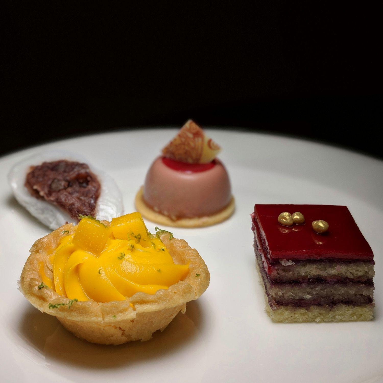 grand hyatt taipei Grand Club Lounge sweets