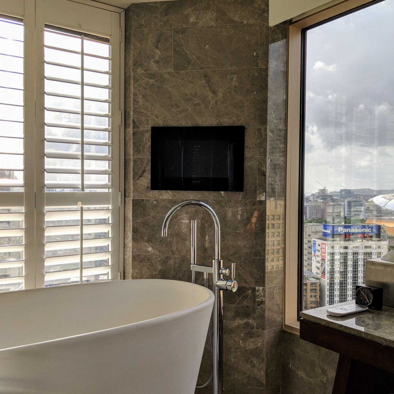 grand hyatt taipei Grand Executive View Suite Bathroom