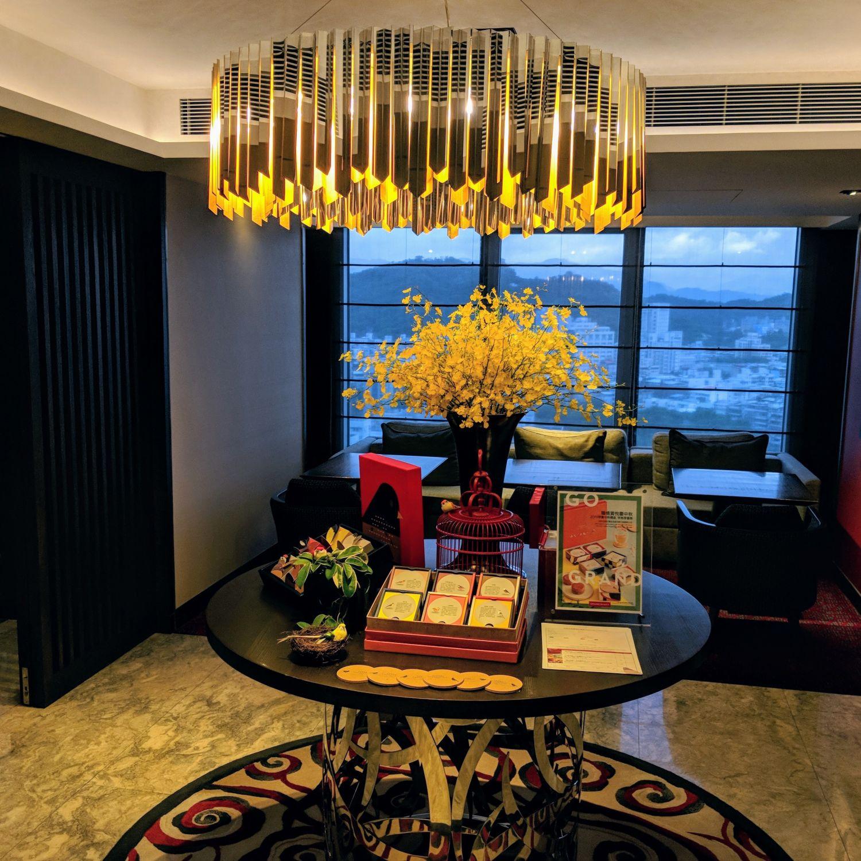 grand hyatt taipei Grand Club Lounge