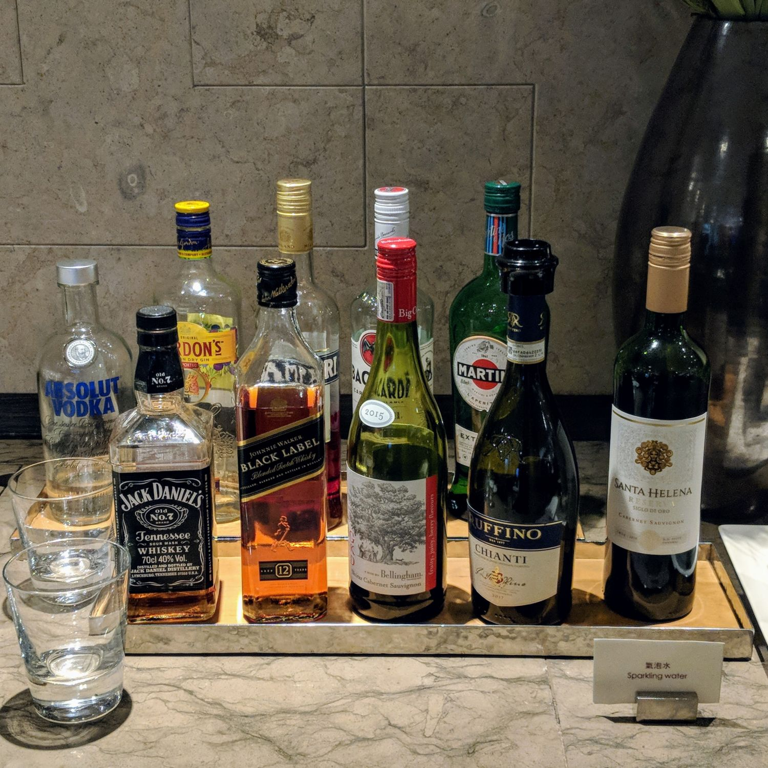 grand hyatt taipei grand club lounge spirits