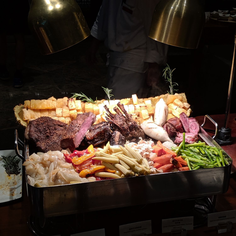 grand hyatt taipei cheers steak buffet dinner