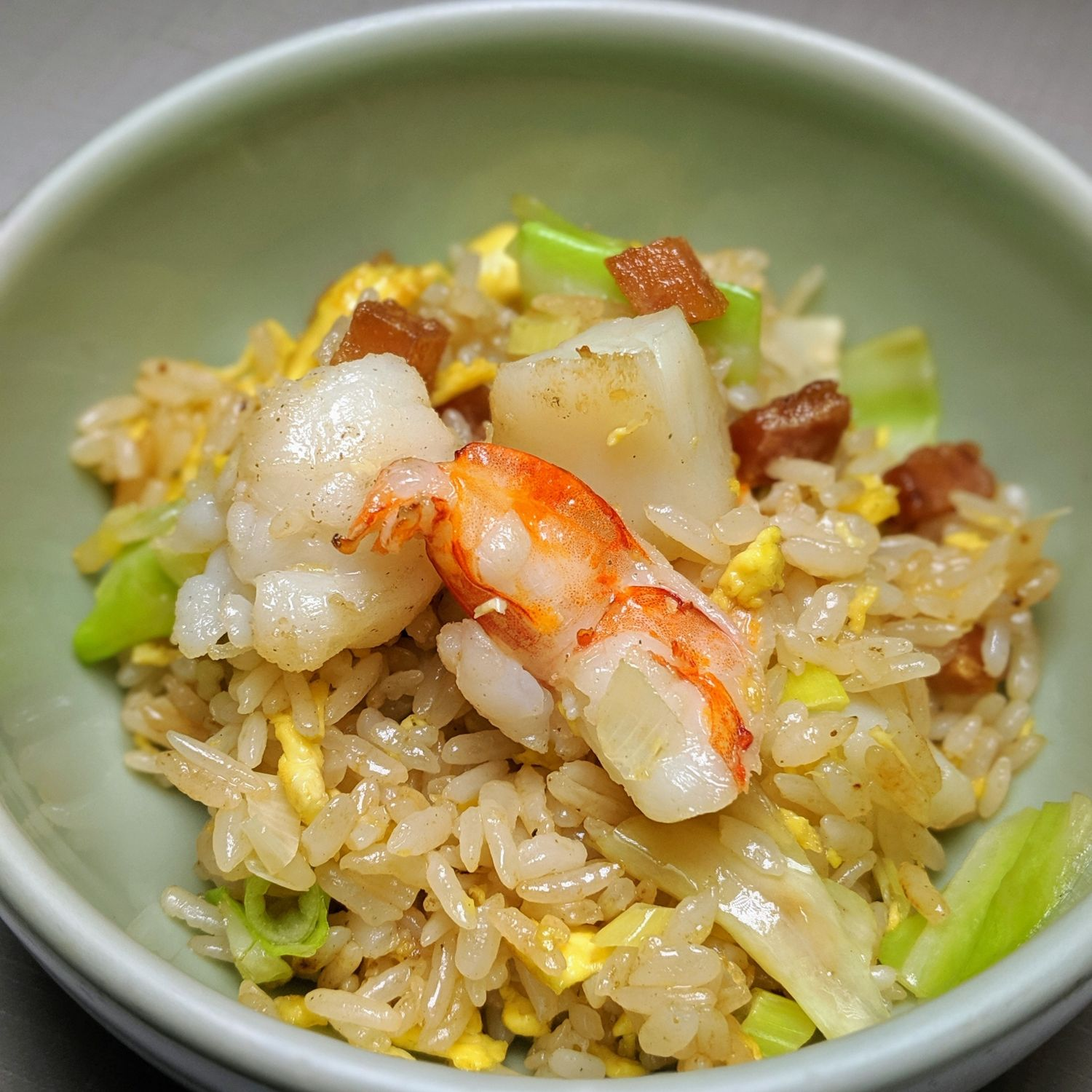 grand hyatt taipei pearl liang Fried Rice with Scallop Shrimp and Dried Mullet Roe
