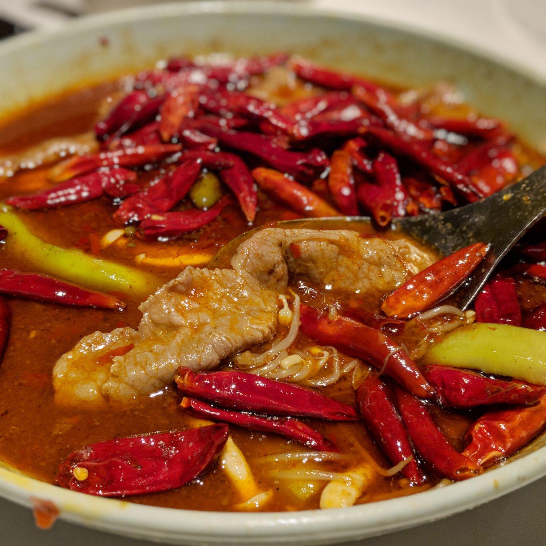 grand hyatt taipei Yun Jin Szechuan Pepper Broth Poached Taiwanese Beef