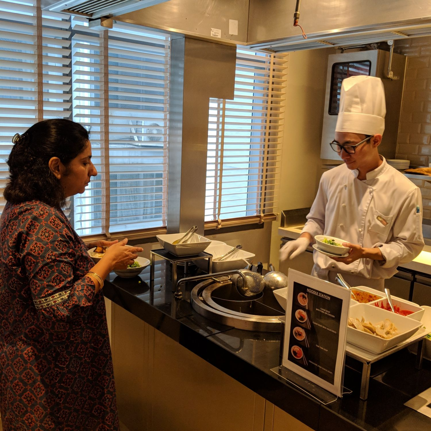 Hyatt Place Bangkok Sukhumvit Gallery Kitchen Breakfast