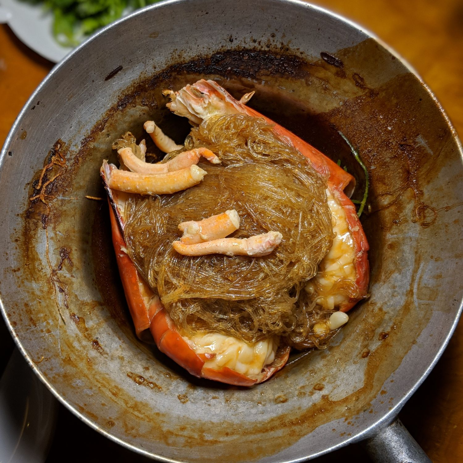 Hyatt Place Bangkok Sukhumvit Ping's Restaurant Jumbo River Prawn with Vermicelli in Claypot