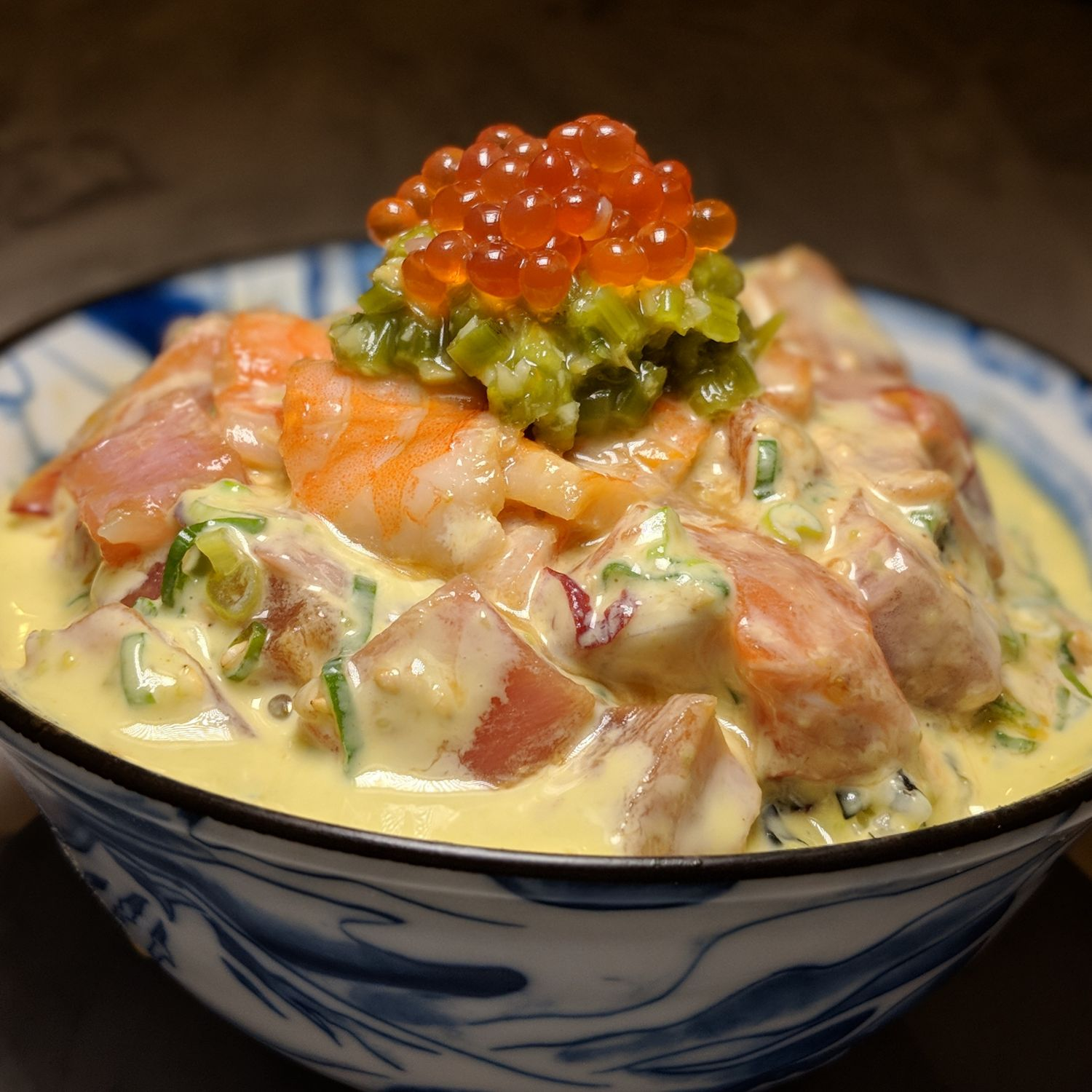 Omote Singapore Wasabi Power Chirashi Don