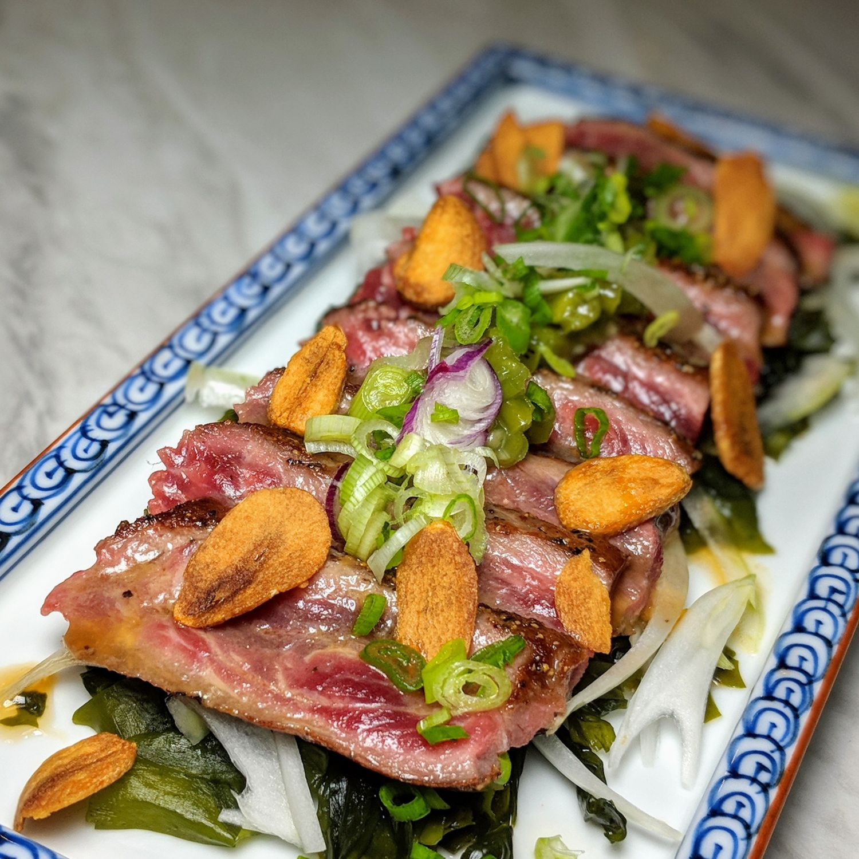 Omote Singapore Grilled Beef Tataki