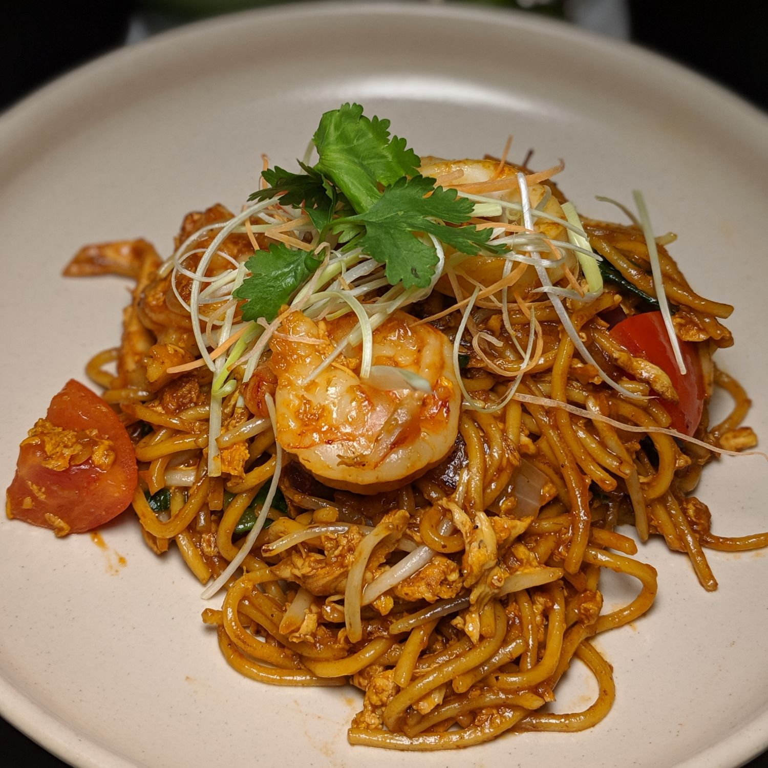 raffles hotel singapore tiffin room breakfast mee goreng