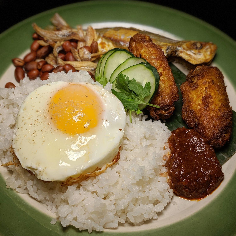 raffles hotel singapore tiffin room breakfast nasi lemak