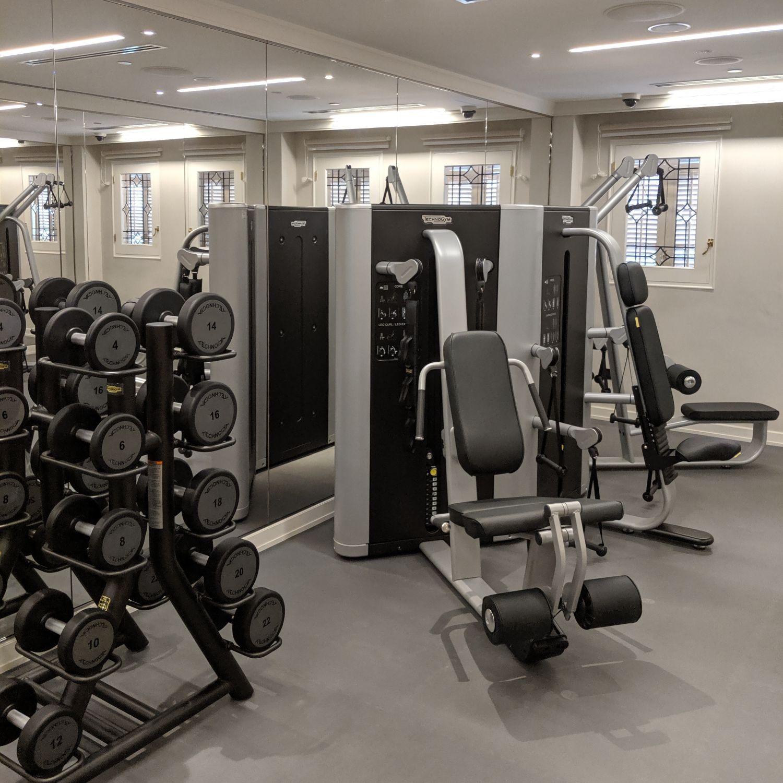 raffles hotel singapore fitness centre