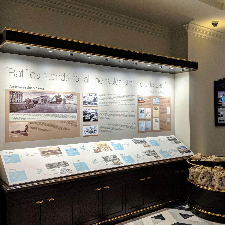 raffles hotel singapore raffles boutique history gallery