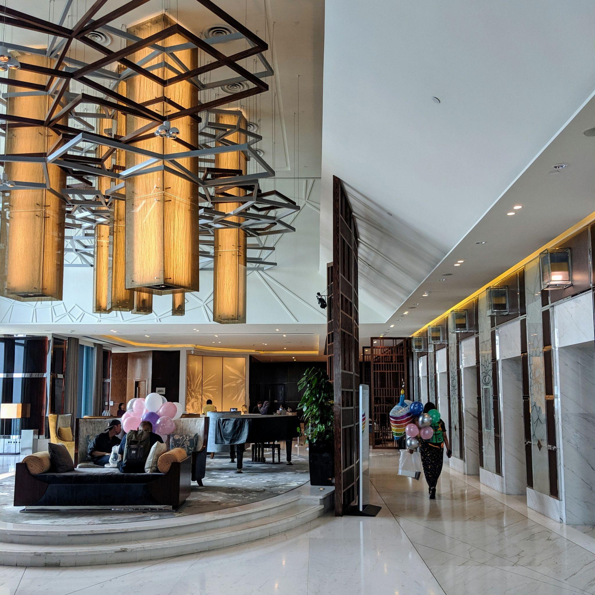 the westin singapore lobby