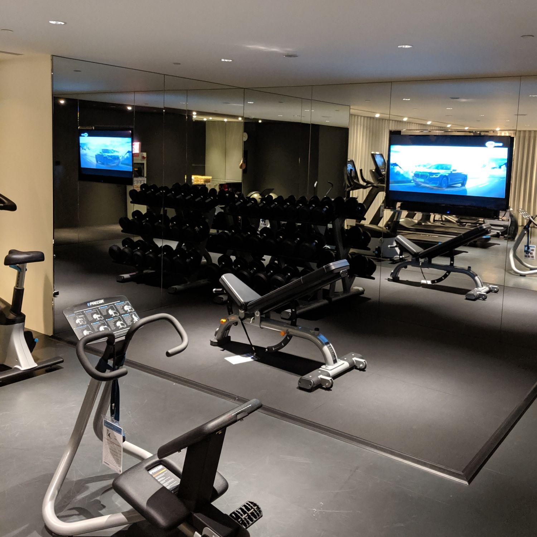 kimpton da an hotel taipei fitness centre