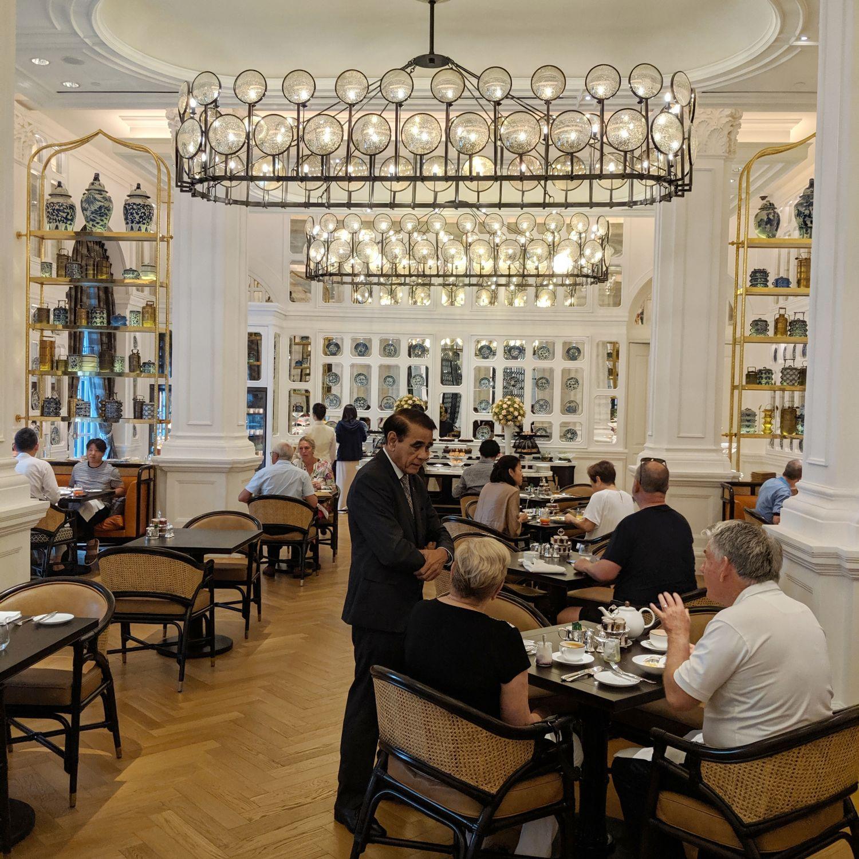 raffles hotel singapore tiffin room breakfast