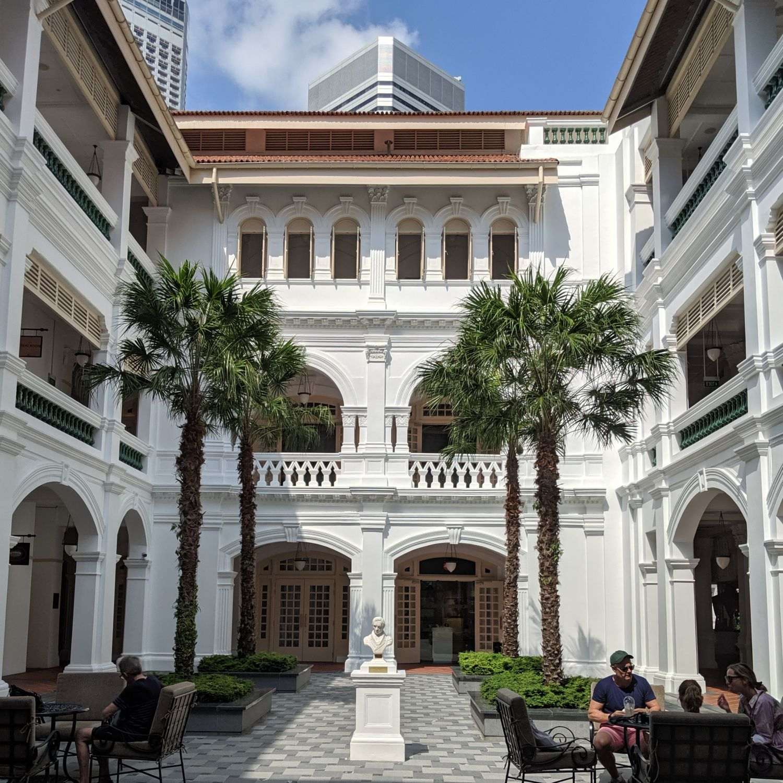 raffles hotel singapore raffles arcade