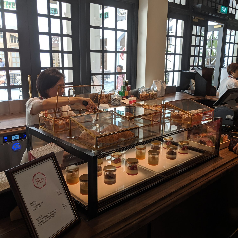 raffles hotel singapore raffles boutique ah teng's cafe
