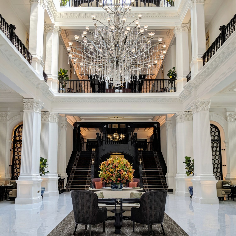 raffles hotel singapore grand lobby