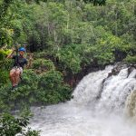 shinta mani wild Raging Sister Waterfall zipline
