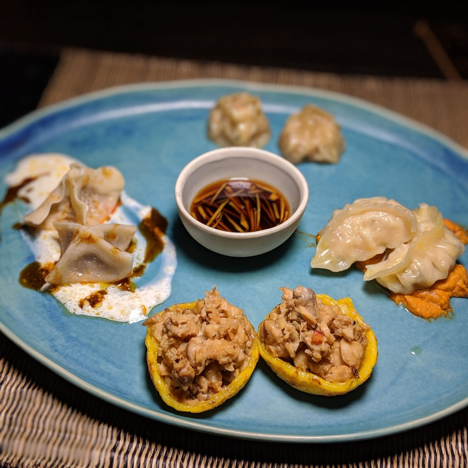 shinta mani wild headquarters dumpling night dumplings