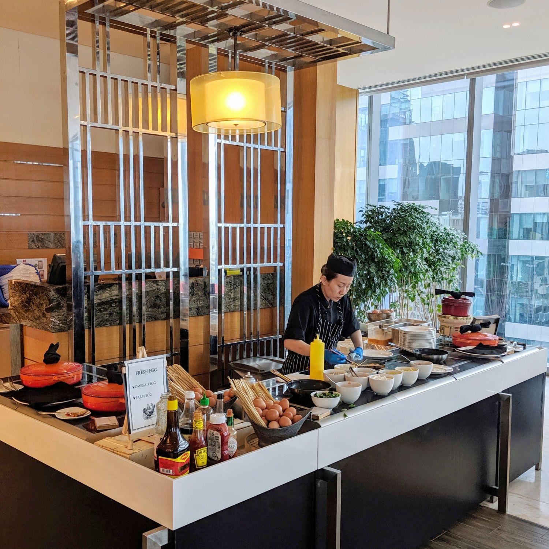 the westin singapore seasonal tastes breakfast egg station