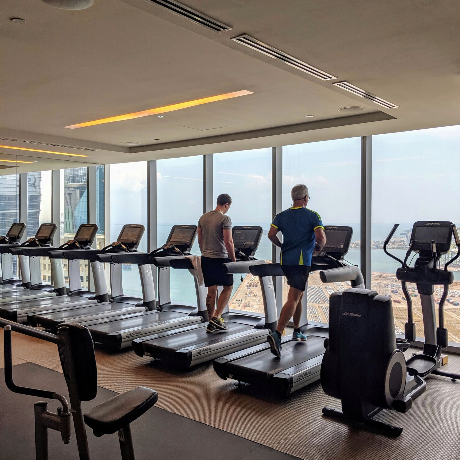 the westin singapore westinworkout fitness studio