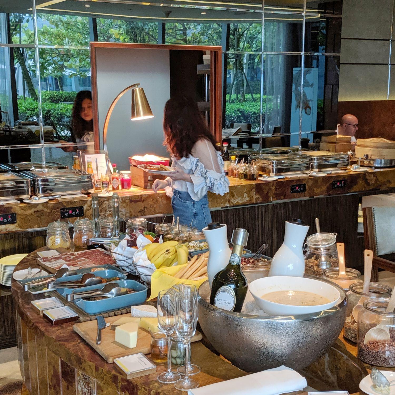 the westin singapore westin club lounge breakfast