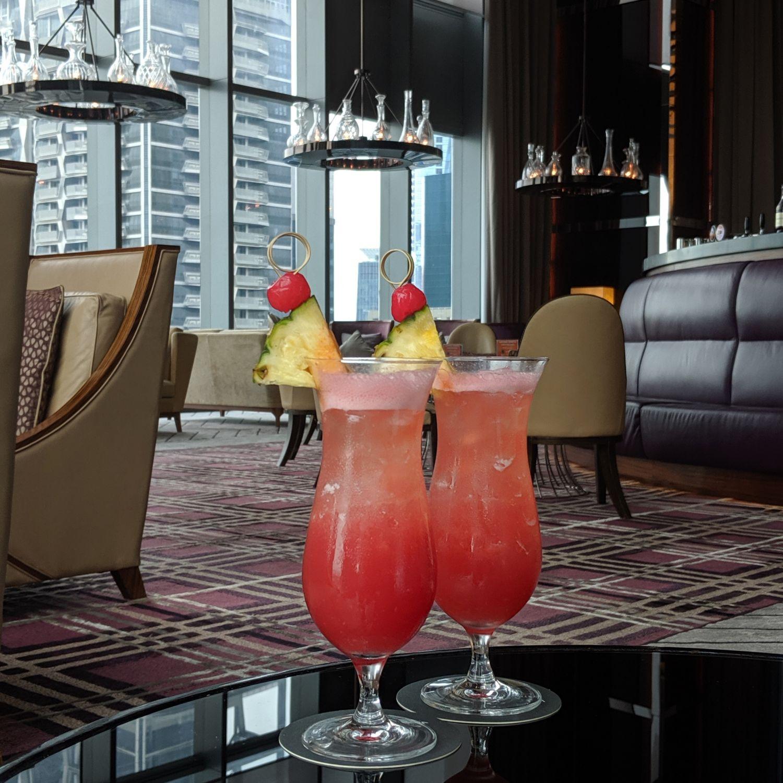 the westin singapore lobby lounge singapore sling