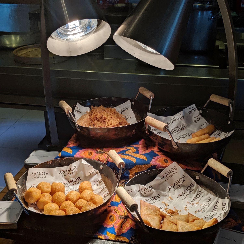 the westin singapore seasonal tastes breakfast fried selection