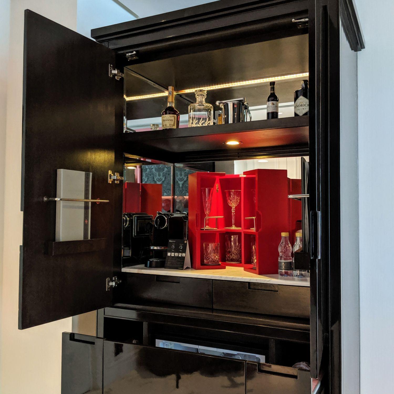 crocksford hotel genting junior suite pantry minibar