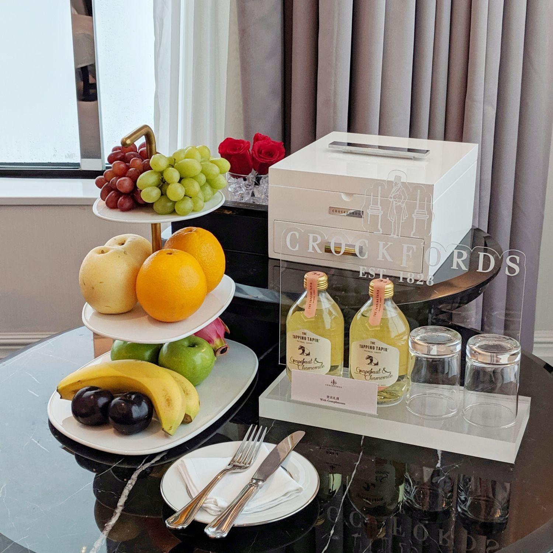 crocksford hotel genting junior suite welcome amenities