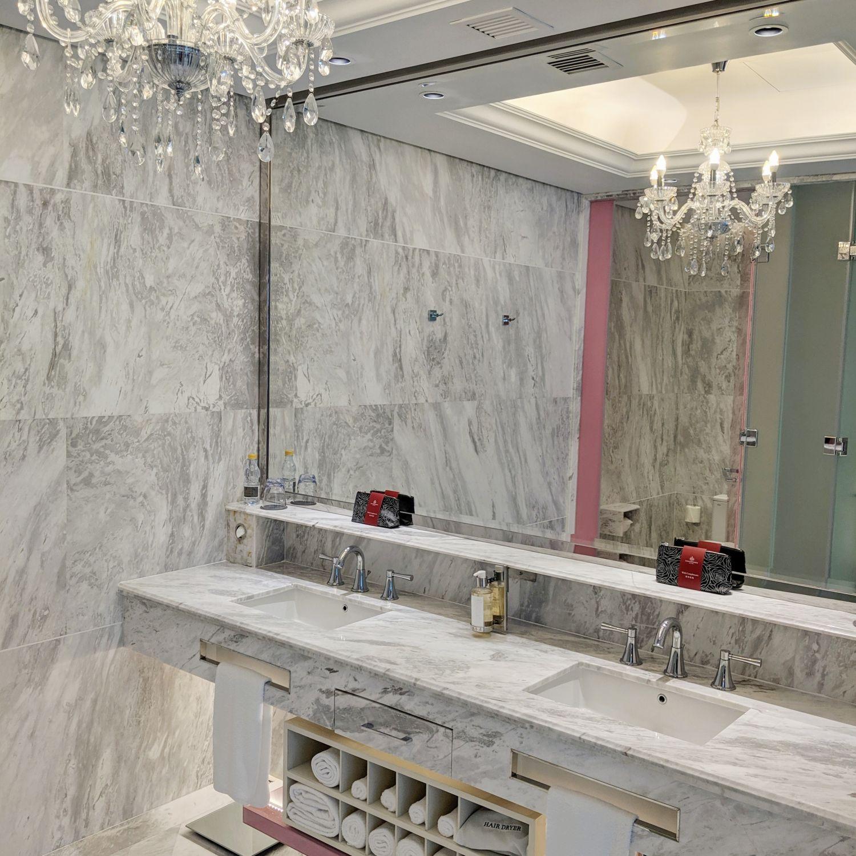 crocksford hotel genting junior suite bathroom