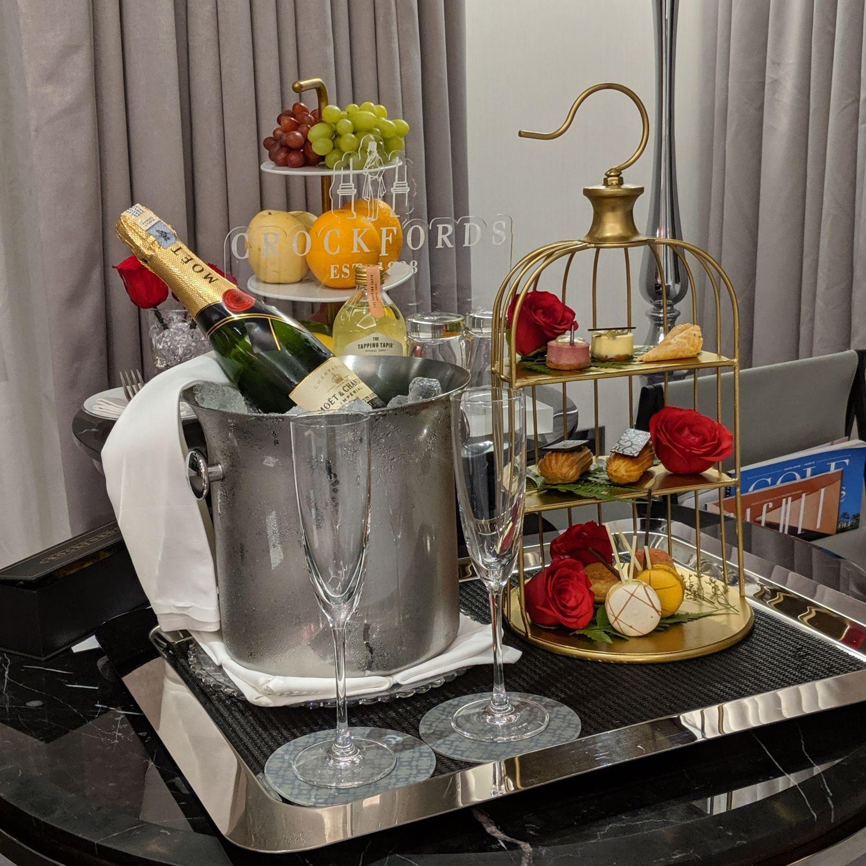 crocksford hotel genting junior suite turndown amenities