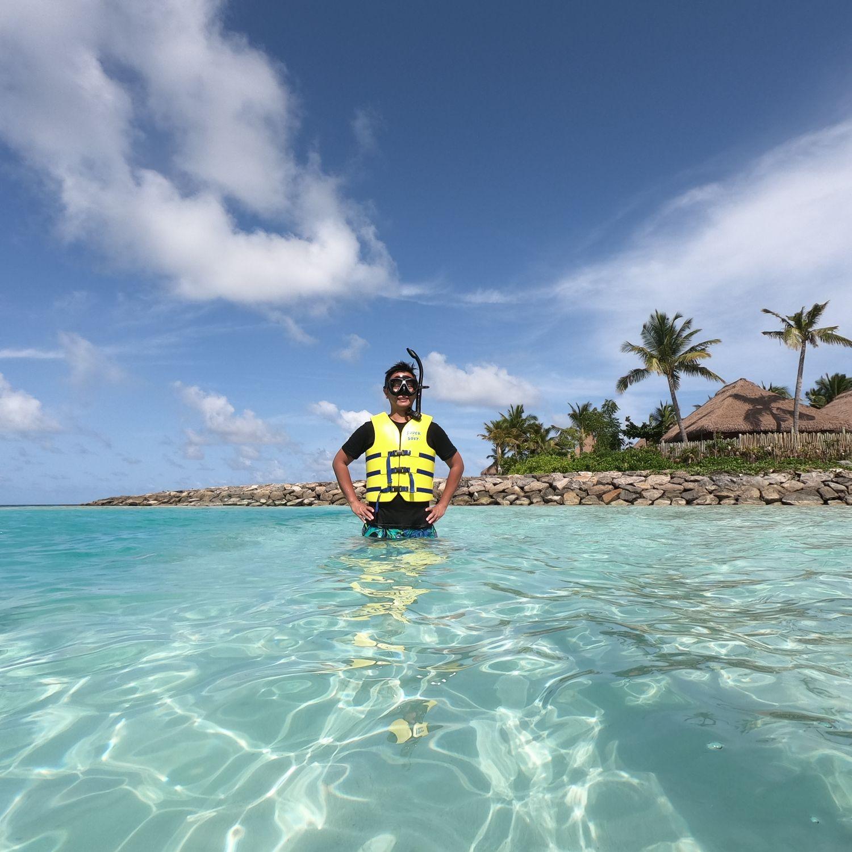 waldorf astoria maldives ithaafushi snorkelling