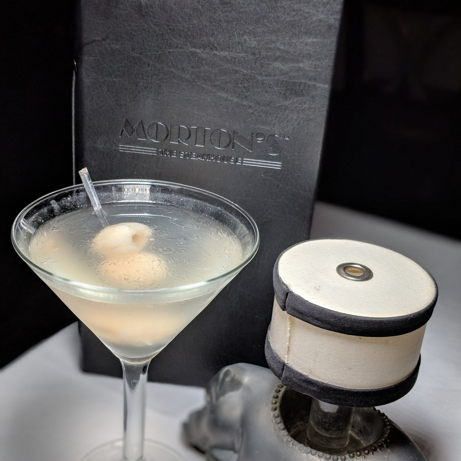 mandarin oriental singapore mortons the steakhouse lychee martini