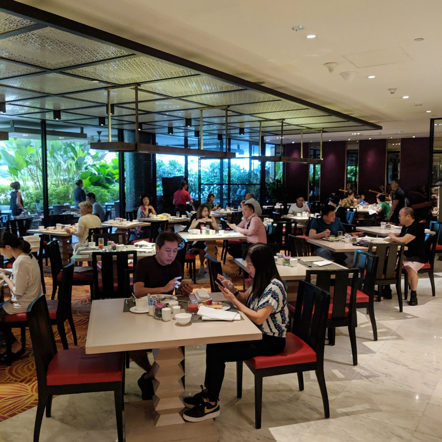 mandarin oriental singapore melt cafe breakfast