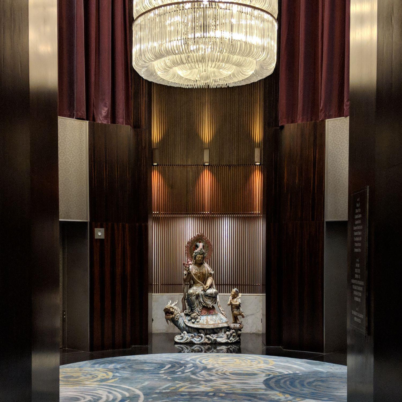 mandarin oriental singapore lobby