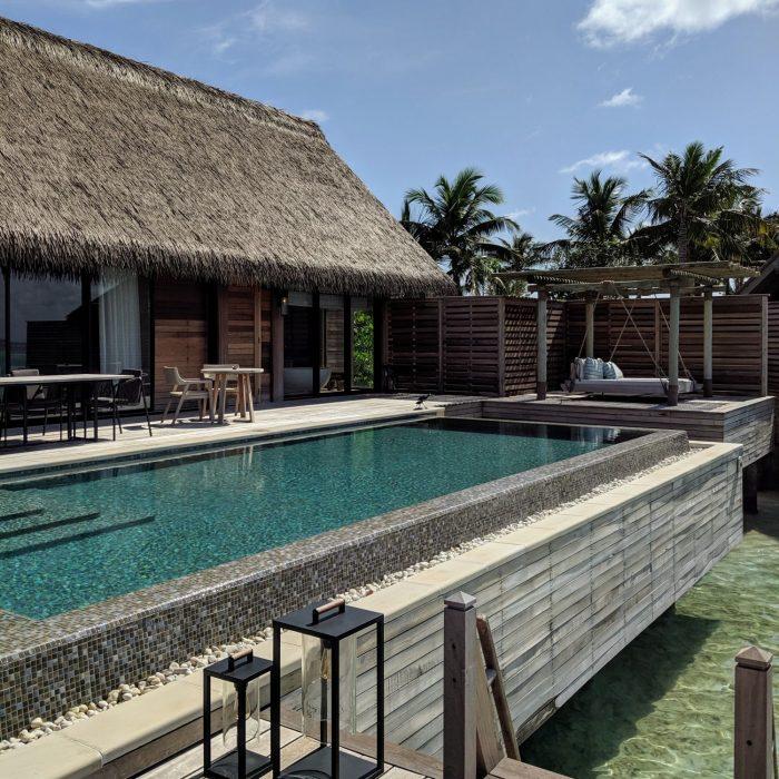 waldorf astoria maldives ithaafushi King Grand Reef Villa with Pool