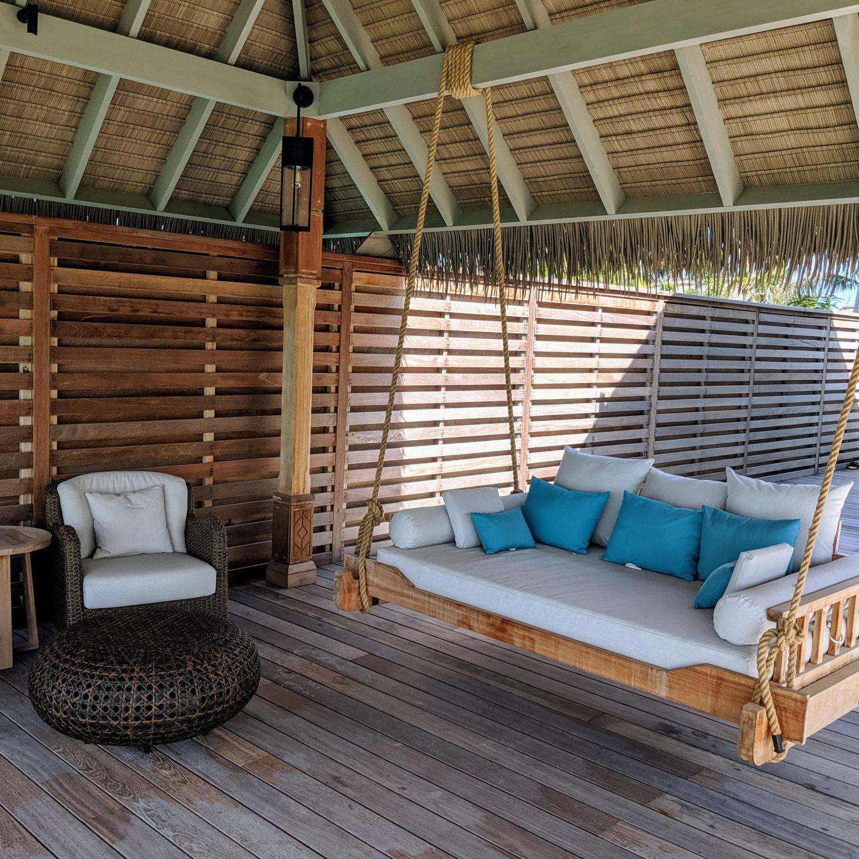 waldorf astoria maldives ithaafushi King Grand Reef Villa with Pool Dining Gazebo