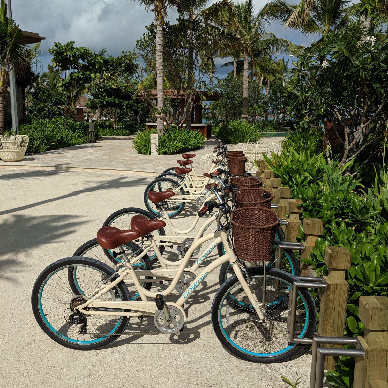 waldorf astoria maldives ithaafushi bicycles